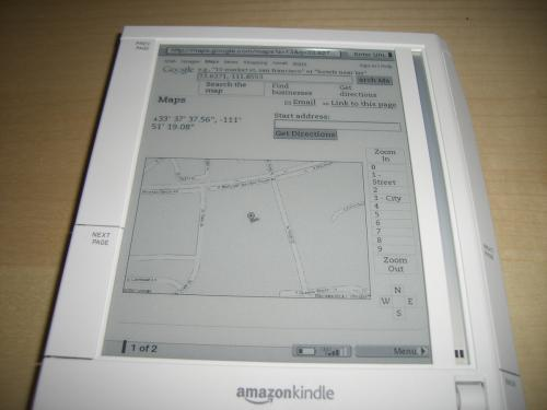 kindle gps