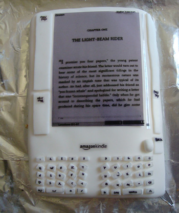 Amazon Kindle Cake
