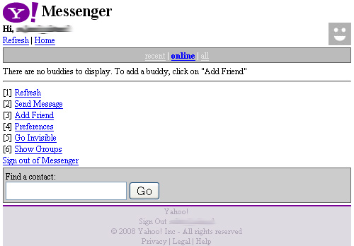 yahoo messenger on amazon kindle