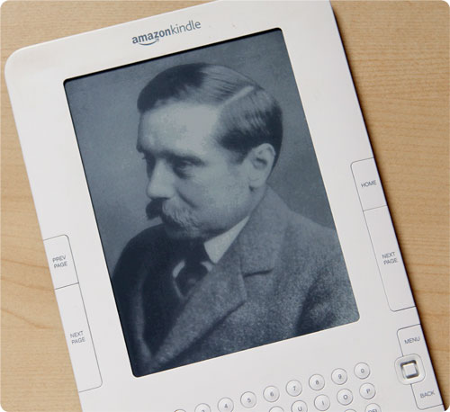 H.G. Wells On Kindle