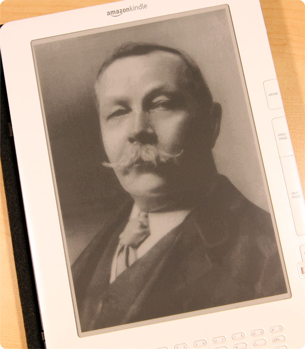 Arthur Conan Doyle on Kindle