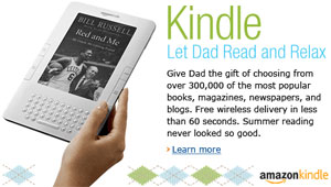 Kindle As Father's Day Gift
