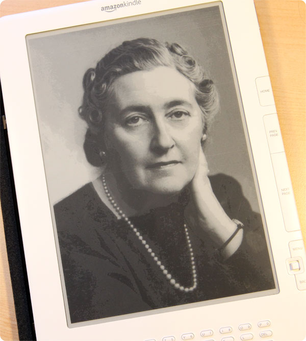 Agatha Christie on Kindle
