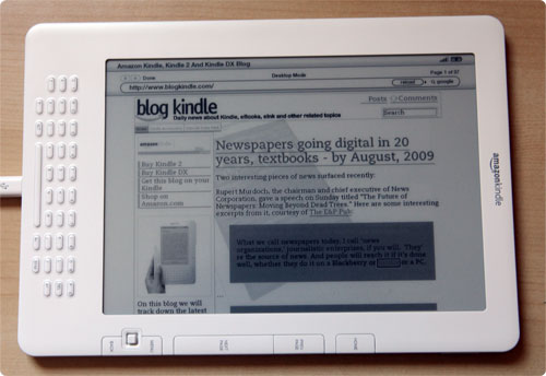 Kindle DX Basic Web